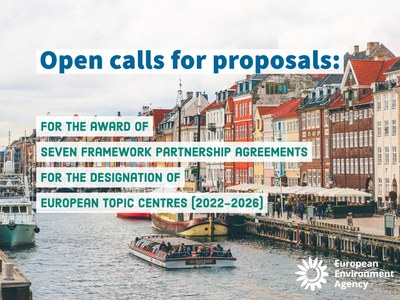 Open call for proposals - seven EEA topic centres (ETCs)