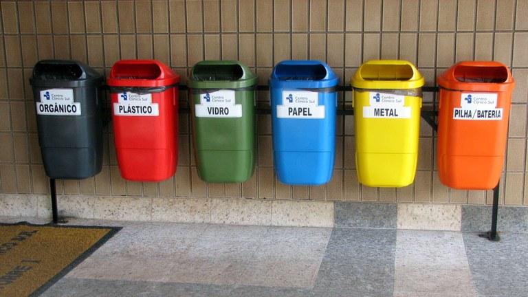 Recycling of municipal waste