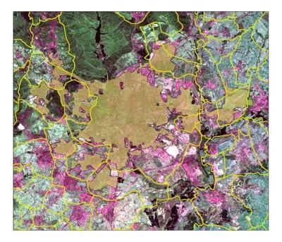 Madrid Urban Morphological Zone