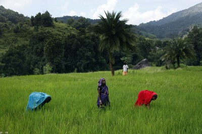 Villagers in Orissa India