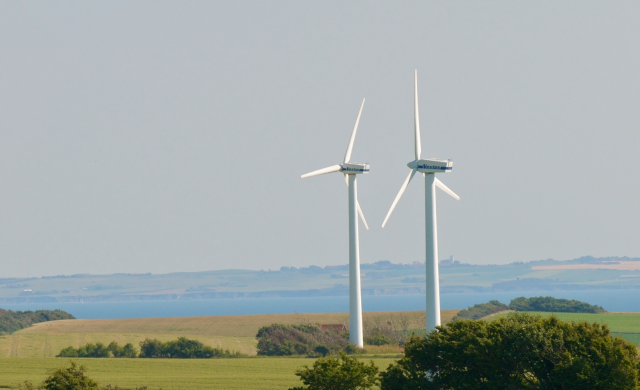 Renewable energy production, Thisted, Denmark