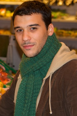 Bruno at the supermarket