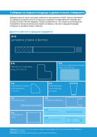 Събиране на морски отпадъци и данни относно събирането