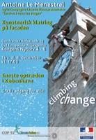Climbing change poster