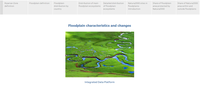 Floodplain statistics viewer