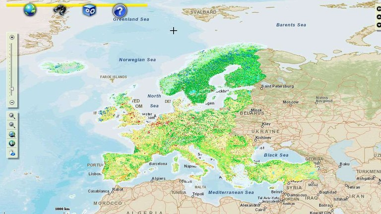 Changing Face Of Europe Explore The Land Cover European Environment Agency