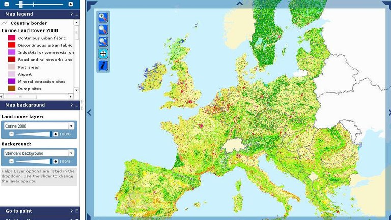 Lucas Viewer With Ground Level Pictures European Environment Agency