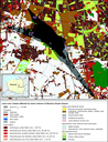 Land cover classes affected by noise contours of Warsaw Chopin airport