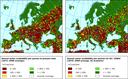 Annual water availability per person (Falkenmark indicator)