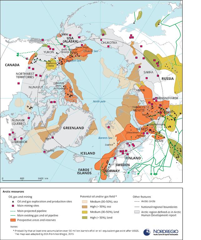 Arctic Resources European Environment Agency