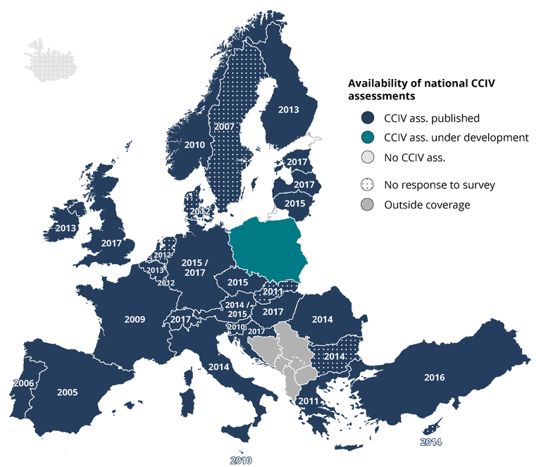 Almost all European countries have conducted national climate change vulnerability and risk assessments as part of their adaptation plans to better deal with the impacts of climate-related hazards, according to a European Environment Agency (EEA) report published today.