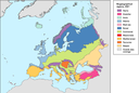 Biogeographical regions, Europe 2001