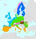 Biogeographical regions, Europe 2008