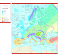 Biogeographical regions in Europe 1998