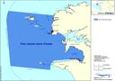 Boundaries of the Marine Natural Park of the Irose Sea