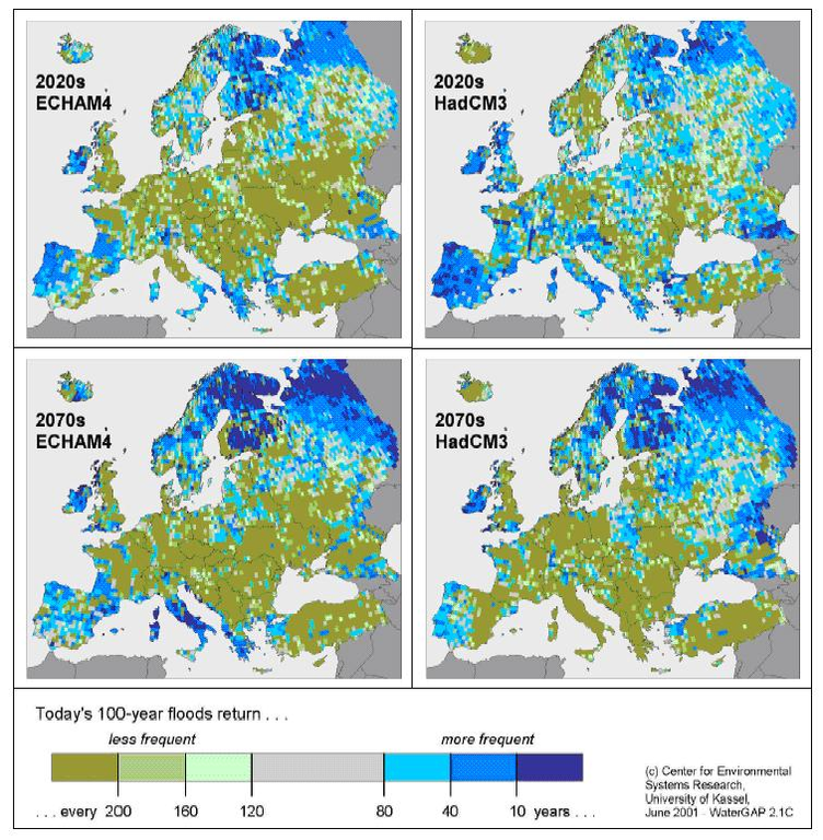 https://www.eea.europa.eu/data-and-maps/figures/change-in-occurrence-of-100-year-floods-comparisons-of-results-calculated-with-watergap-2-1-for-today2019s-climate-1961-90-and-for-the-2020s-and-2070s-echam4-and-hadcm3climate-models/wwnd_f01_fig01_map.jpg/image_large