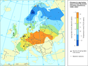 Trend in egg-laying dates of the Pied flycatcher across Europe