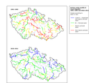 Comparison of water quality in rivers in the Czech Republic, 1991–1992 and 2010–2011