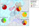Conservation status of marine habitats per biogeographic region