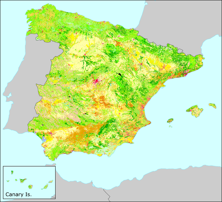 Spain — European Environment Agency on land use maps usa, land use map germany, land use map england, land use map greece, land use map mexico, land use map france, land use map europe, landmark of spain, table of contents of spain, housing of spain,