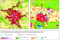 Different urban delineations: the administrative city and the Urban Morphological Zone (UMZ) of Paris and Sofia