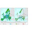 Distribution of FARO-EU rural classes across Europe and massifs