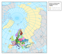 Distribution of reported data of Nationally designated areas (CDDA) - points.