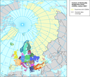 Distribution of reported data of Nationally designated areas (CDDA) - points