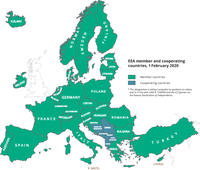 EEA member countries 2020