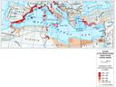 Estimation of tourism during summer season in the Mediterranean