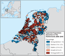 Expected Population dynamics in The Netherlands