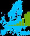 GDP per km2, 1996