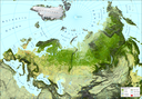 Global land cover for pan-Europe