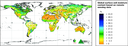 Global surface soil moisture content based on remote sensing data