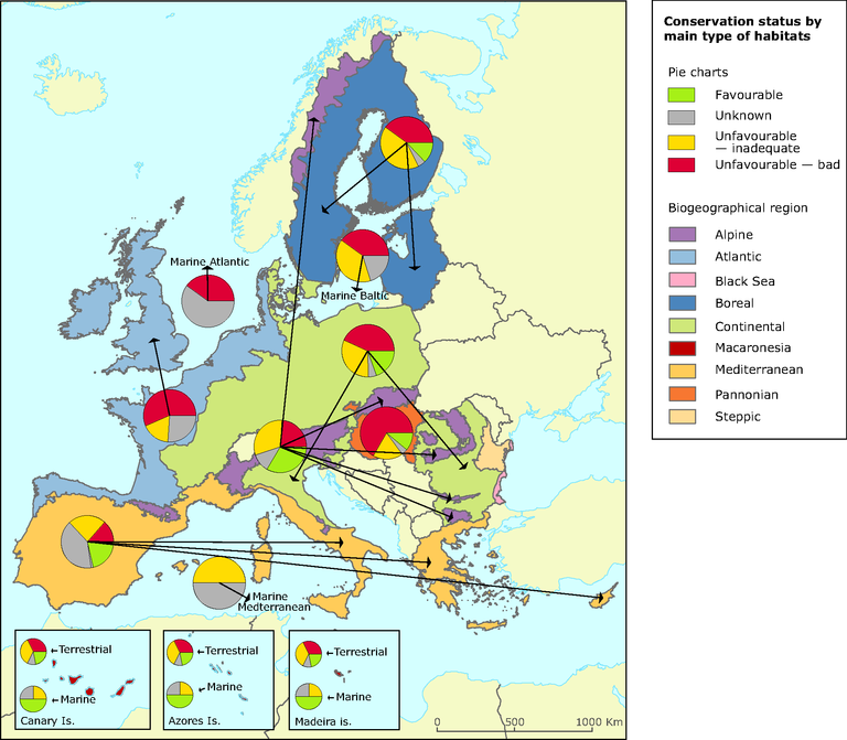 http://www.eea.europa.eu/data-and-maps/figures/habitats-of-european-interest-2014-conservation-status-by-biogeographical-region-2/map-2-2-sebi-biogeoreg_piecharts/image_large