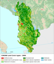 Land cover 2006 and changes country analysis