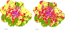 Land use changes in Munich urban area from 1955-1990