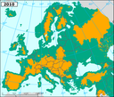 Loss of accessibility for migratory fish due to dams in major European river basins - 2010 - eps file