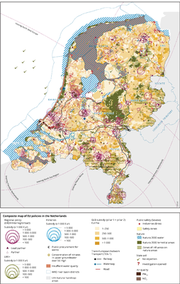 Mapping EU policies that influence land in the Netherlands