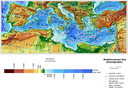 Mediterranean Sea Physiography