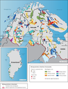 Mining activities in Northern Fennoscandia and Greenland