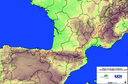 Mountain ranges involved in the Cantabrian mountains-Pyrenees-Alps Initiative