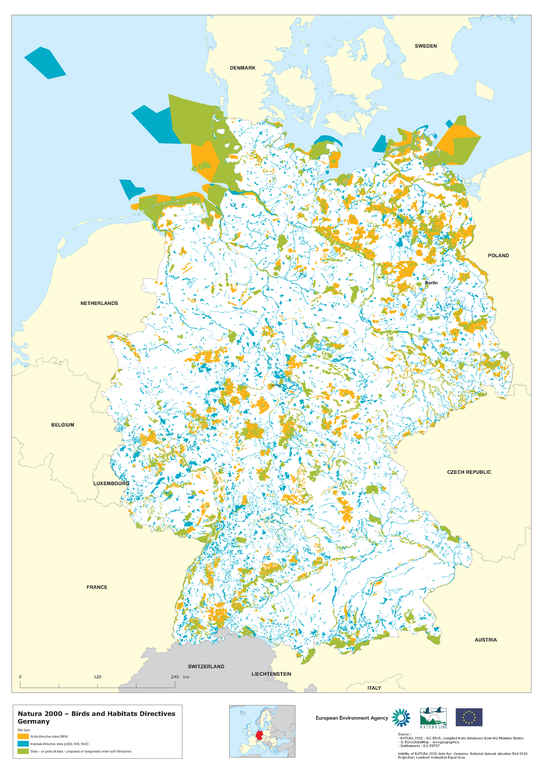 Map Of Germany 2000.Germany European Environment Agency