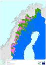 Alpine region: Fennoscandian