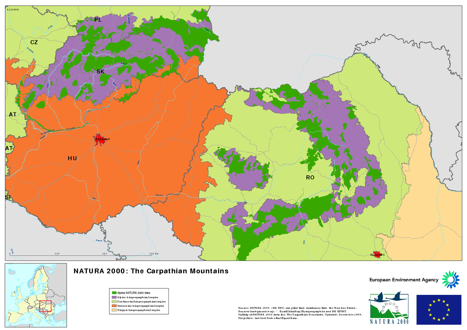 Picture of: The Carpathian Mountains European Environment Agency