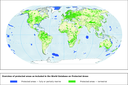 Overview of protected areas as recorded in the World Database on Protected Areas