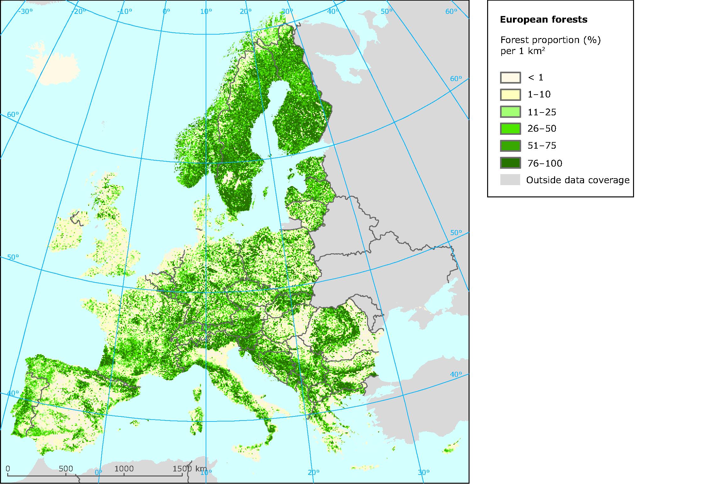 Carte Europe Km.European Environment Agency S Home Page European