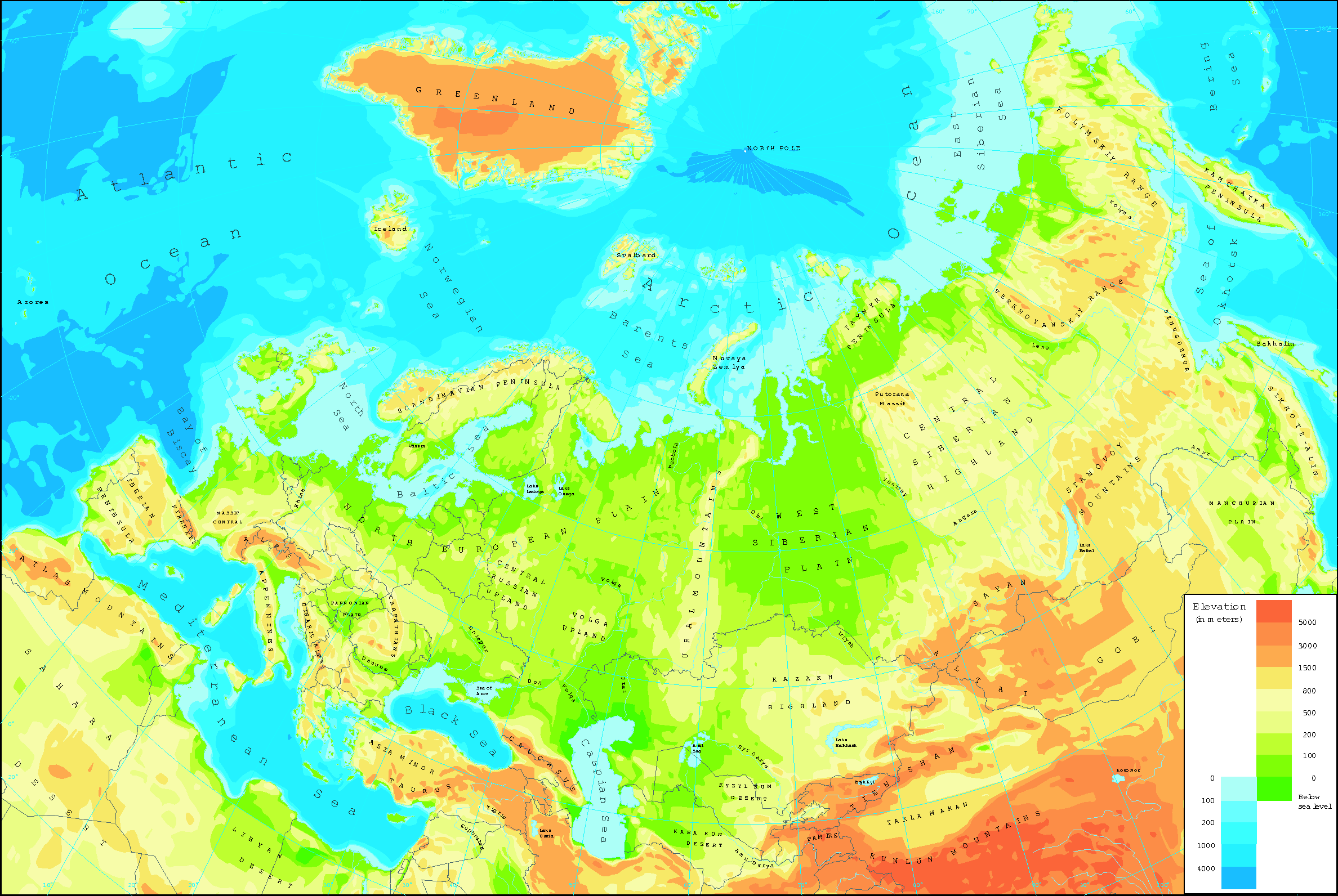 Physical Map Of Eurasia U203a Cover_geograph55.eps ...