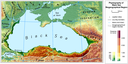 Physiography of Black Sea Biographical region