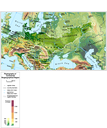 Physiography of Continental Biogeographical Region